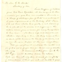 William Pittinger to Edwin M. Stanton